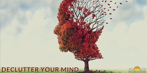 Declutter Your Mind & DeStress