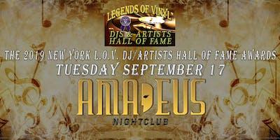 The Legends of Vinyl 2019 New York DJ/Artists Hall of Fame Awards