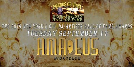 The Legends of Vinyl 2019 New York DJ/Artists Hall of Fame Awards tickets