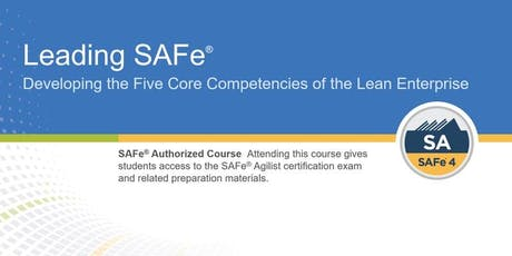 Leading SAFe® Certification Training in Boston, MA tickets