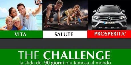 TheCHALLENGE - La sfida dei 90 giorni biglietti