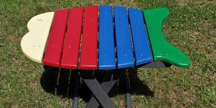 Paint a Folding Fish Table!