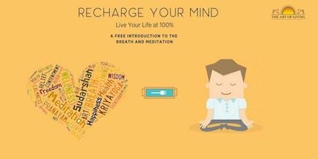 Yoga & Meditation: Recharge & Rejuvenate tickets