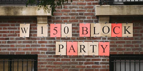 W 150th St Block Party - 2019 tickets