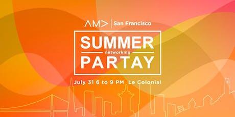 AMA SF Summer Partay tickets