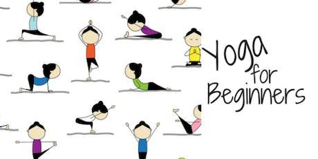 Beginners Yoga tickets