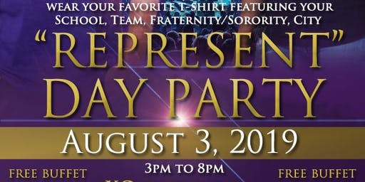 """""""Represent"""" Day Party"""