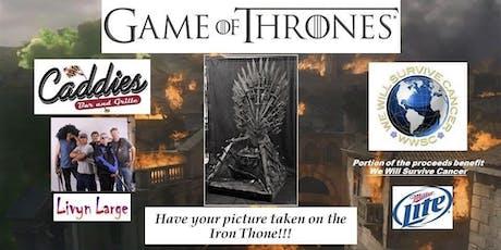 Game of Thrones Night @ Caddies! tickets