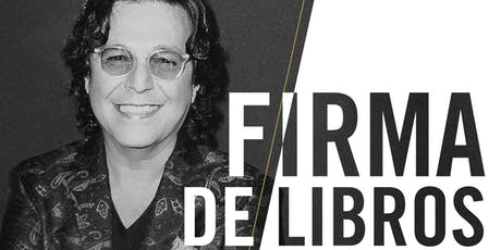 Rudy Pérez firmas de libros 23-24 de julio. tickets