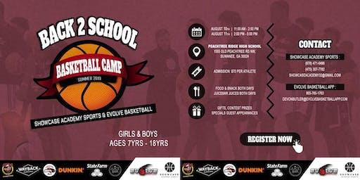 Back 2 School Basketball Camp