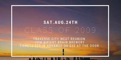 Traverse City West Class of 2009 Reunion