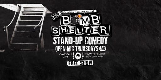 The Bomb Shelter Stand-up Comedy Open Mic