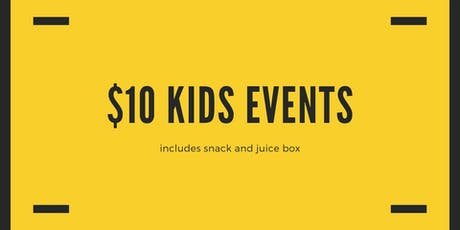 $10 Kids Event tickets