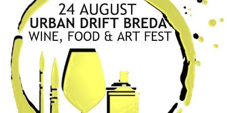 Urban Drift Breda - Wine, Food & Art Fest tickets