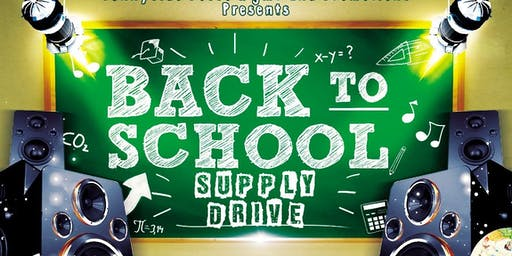 Back To School Supply Drive with The Breakdown Band HTX