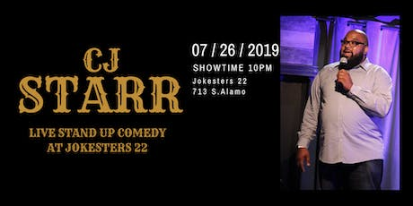 C.J. Starr at Jokesters 22 : Live Stand Up Comedy tickets