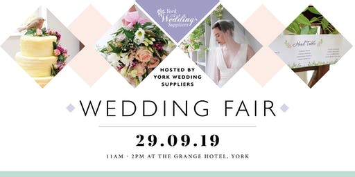 The Grange Hotel -Wedding Fair-York Wedding Suppliers - Sunday 29 September