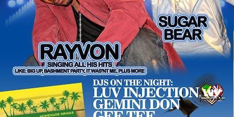 Rayvon  u.k TOUR tickets