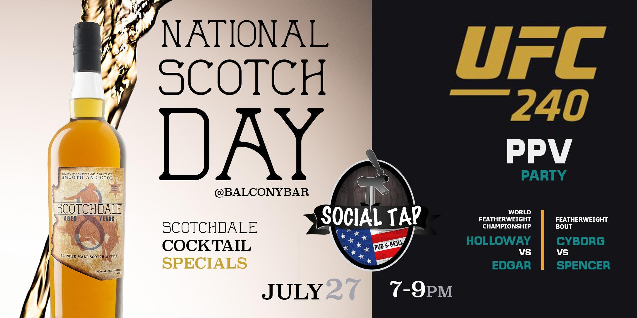 National Scotch Day presented by Scotchdale
