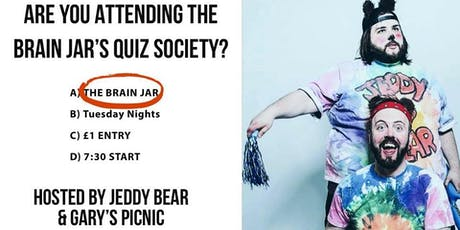 The Brain Jar Tuesday Quiz Society tickets