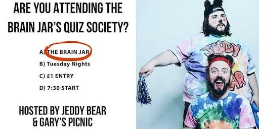 The Brain Jar Tuesday Quiz Society