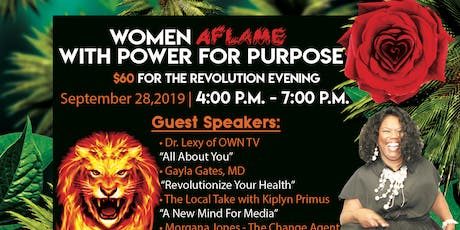 Women Aflame in Power for Purpose tickets