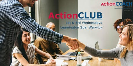 ActionCLUB - 1st and 3rd Wednesdays tickets