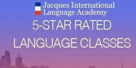 FRENCH Class at www.jila-chicago.us  tickets