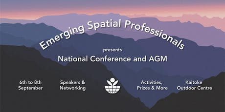 Emerging Spatial Professionals - Mini Conference - Kaitoke 2019 tickets