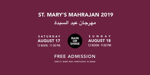 St. Mary's Mahrajan Feast Day Celebration
