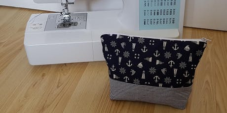 Sew your own zippy pouch  -  class for 8-12 year old's tickets