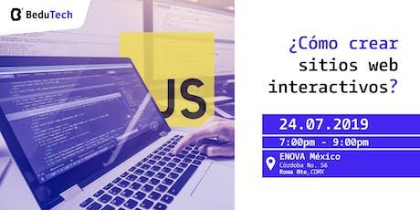 ¿Cómo crear sitios web interactivos? entradas