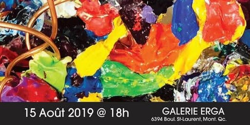 Capharnaüm-exposition des oeuvres  de   Robi. Vernissage 15 août.