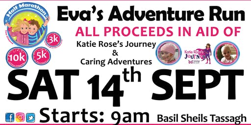 Eva's Adventure Run 2019 - Half Marathon / 10k / 5k / 3k