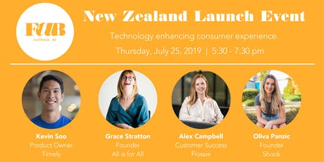 FaB Fashion and BeautyTech Launch Event in Auckland tickets