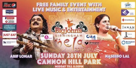 Big John's Birmingham Mela 2019 tickets