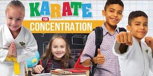 Karate For Concentration Workshop 8/17/19