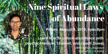 Nine Spiritual Laws of Abundance Workshop tickets