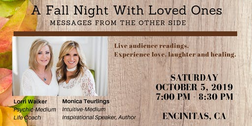 A Fall Night with Loved Ones- Messages from the Other Side
