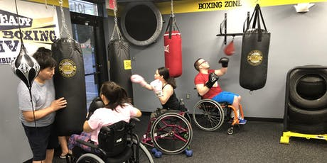 Tuesday-DPI Beginner Adaptive Boxing Fitness ($20) tickets