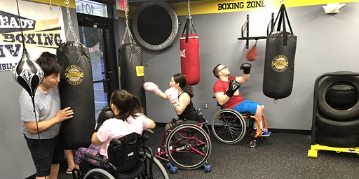 Tuesday-DPI Beginner Adaptive Boxing Fitness ($20)