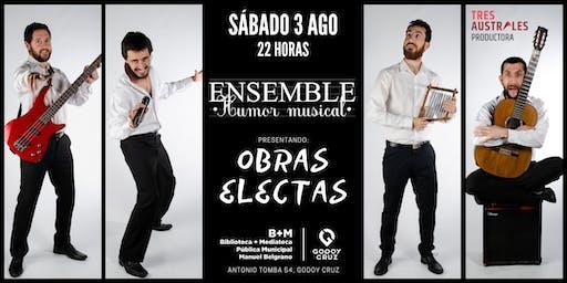 """ENSEMBLE presenta sus """"Obras Electas"""" en GODOY CURZ"""