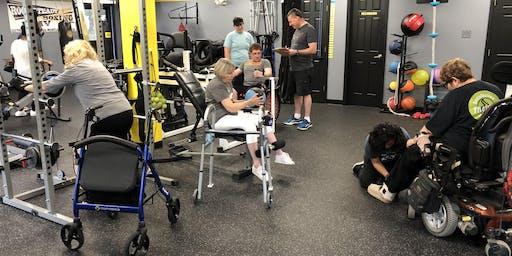 Friday 11:30-DPI Adaptive Fitness Open Gym ($20)