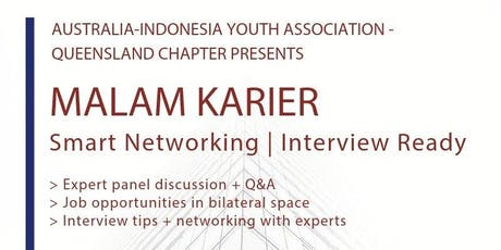 Malam Karier: Smart Networking and Interview Ready tickets