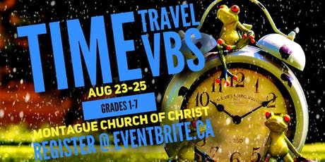 Time Travel VBS tickets