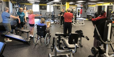 Monday-Movin' w/MS! (MS Clients)-Sponsored by Medstar NRH (Free)