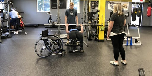 Saturday 11-1 NO Limits Adaptive Open Gym (Sponsored by Medstar NRH) (Free)