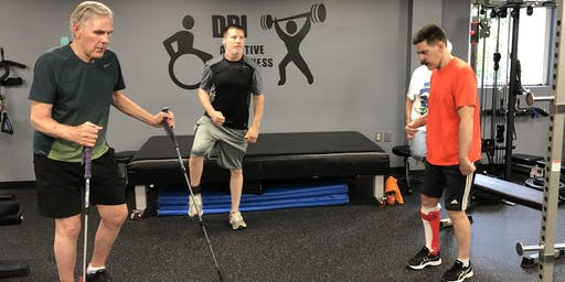 Tuesday-DPI Adaptive Balance and Core Conditioning ($20)