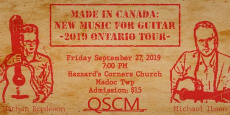 Made in Canada: Classical Guitar Duo tickets