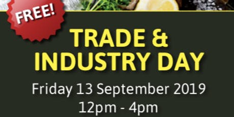 South Coast Food & Wine Festival - TRADE & INDUSTRY DAY tickets